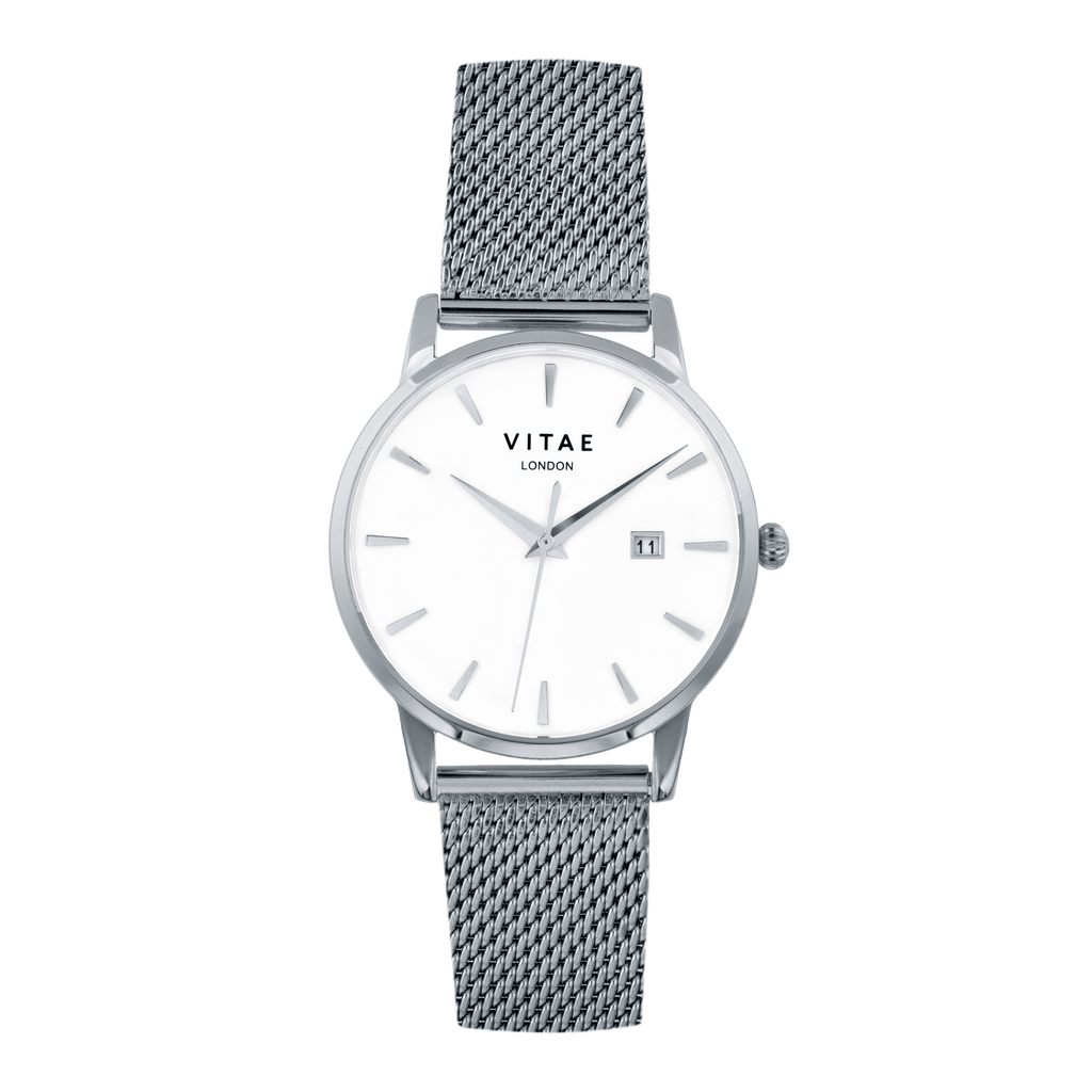Walmer Silver Watch - 40mm