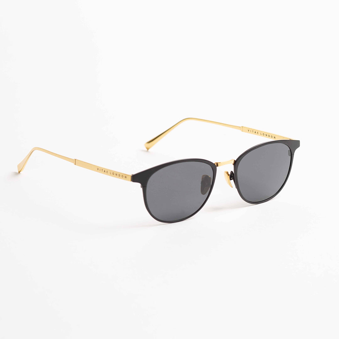 Elmington Midnight x Gold Sunglasses