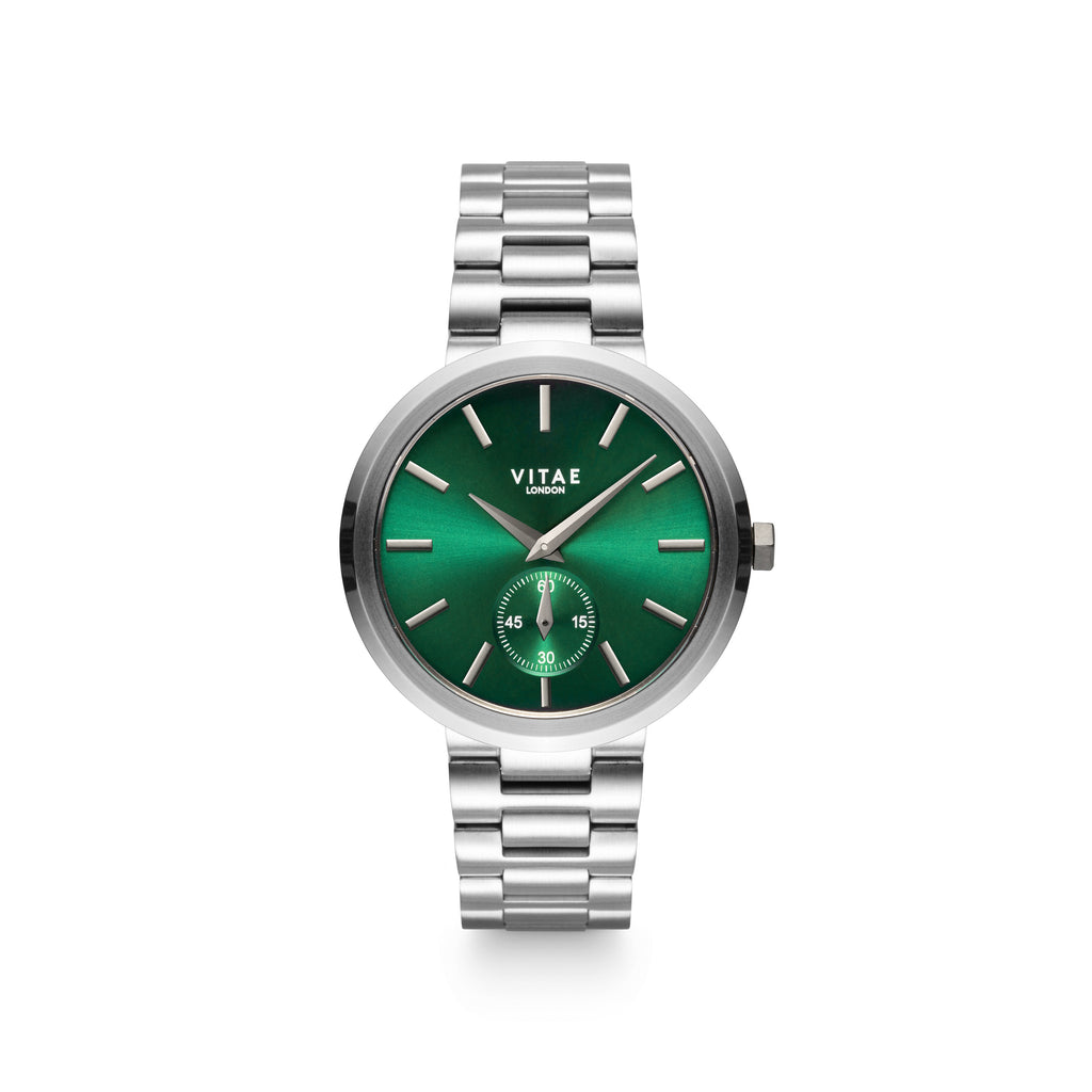 Elmington Emerald x Silver - 36mm