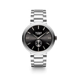 Elmington Midnight Watch x Black/Silver - 44mm