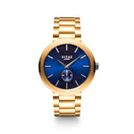 Elmington Ocean Watch x Blue/Gold - 44mm