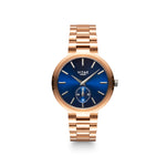 Elmington Ocean Watch x Blue/Rose Gold - 36mm