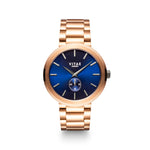 Elmington Ocean Watch x Blue/Rose Gold - 44mm