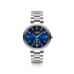 Elmington Ocean Watch x Blue/Silver - 36mm