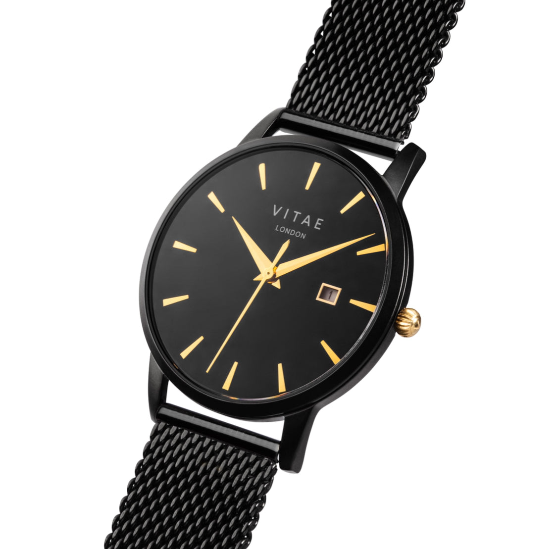 Walmer Midnight x Gold Watch - 34mm