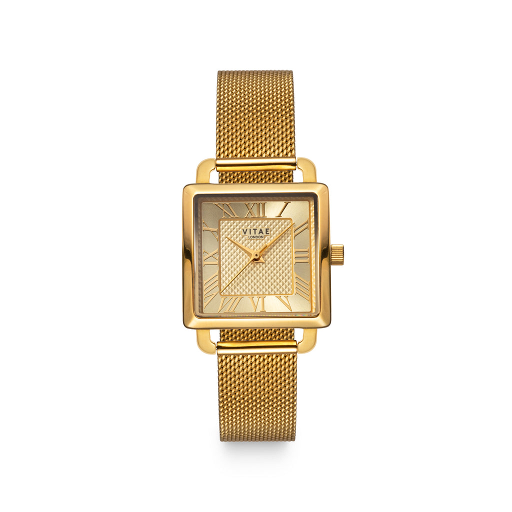 Ilesha Petite Watch Gold