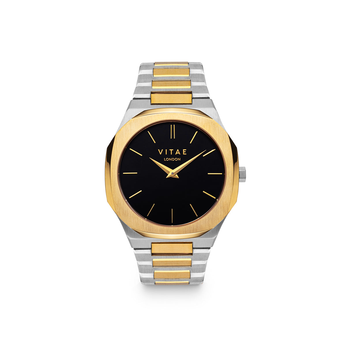 Ada Midnight Watch - Gold x Silver - 40mm