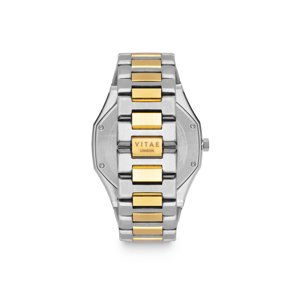 Ada Midnight Watch - Gold x Silver - 42mm