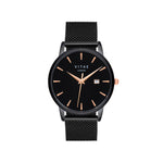 Walmer Midnight x Rose Gold Watch - 40mm