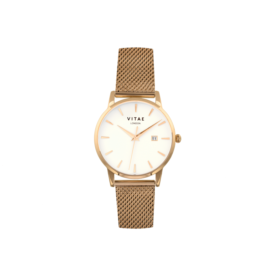 Walmer Rose Gold Watch - 34mm