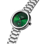 Elmington Emerald x Silver - 44mm