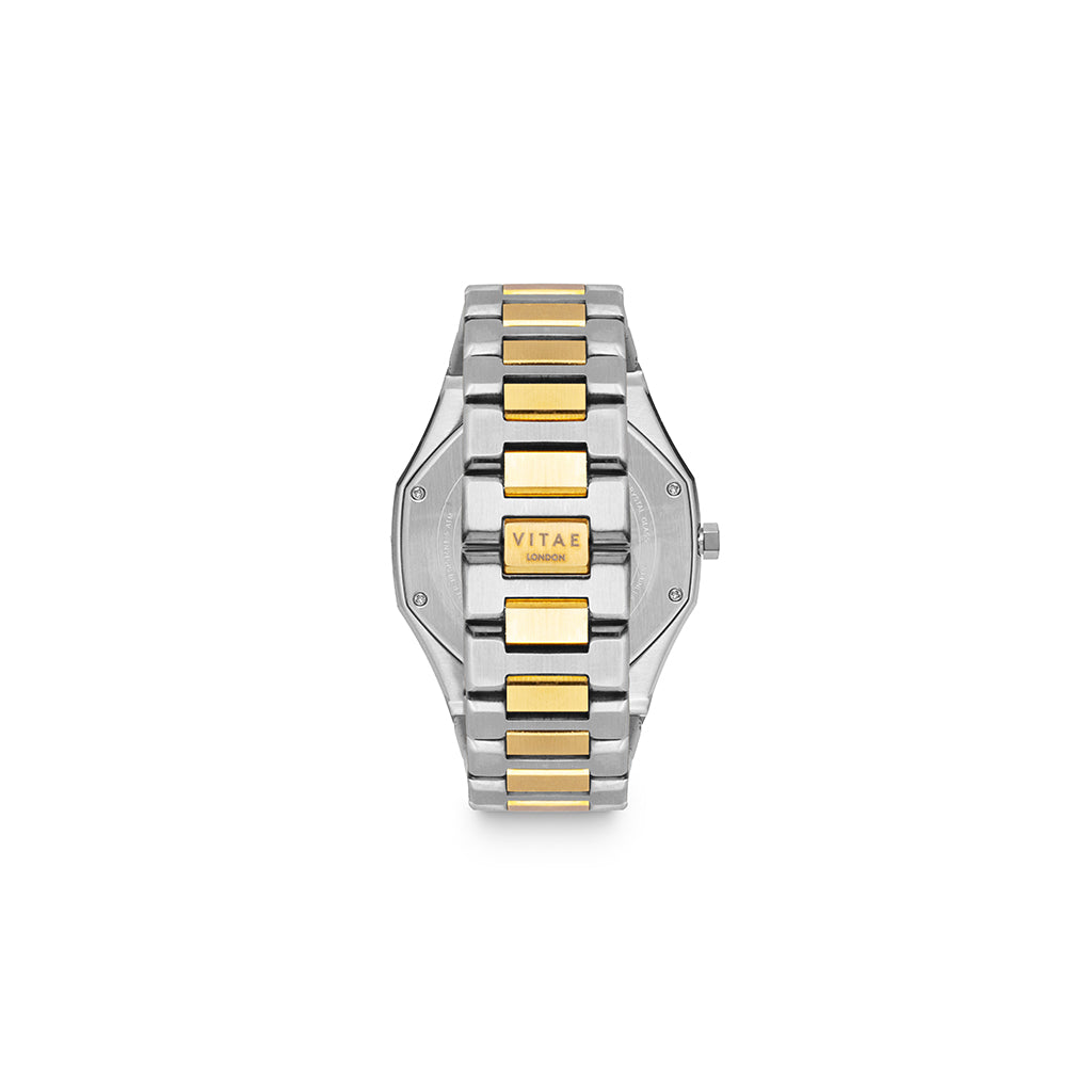 Ada Petite Midnight Watch - Gold x Silver - 34mm