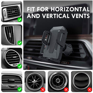 Air Vent Phone Holder for Car,Miracase Universal Vehicle Cell Phone Mount - Miracase