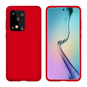 Silicone Back Cover Case for Samsung Galaxy S20/ S20+ /S20 Ultra