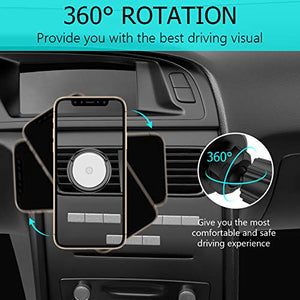Upgrade 2 in 1 Magnetic Air Vent Phone Holder - Miracase
