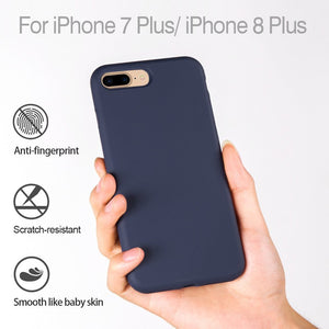 Silicone Case for iPhone 8 / 7 Plus (5.5inch) - Miracase