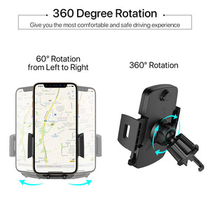 Air Vent Car Phone Mount,Miracase Universal Vehicle Cell Phone Holder - Miracase