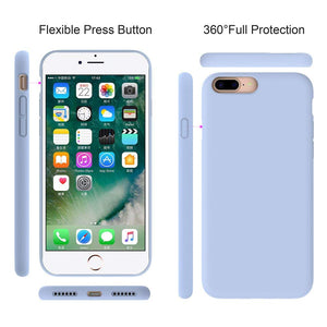 Miracase Liquid Silicone Case for iPhone 8 / iPhone 7  (4.7inch) - Miracase