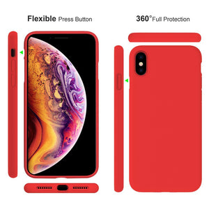 Silicone Case for iPhone XS Max(6.5inch) - Miracase