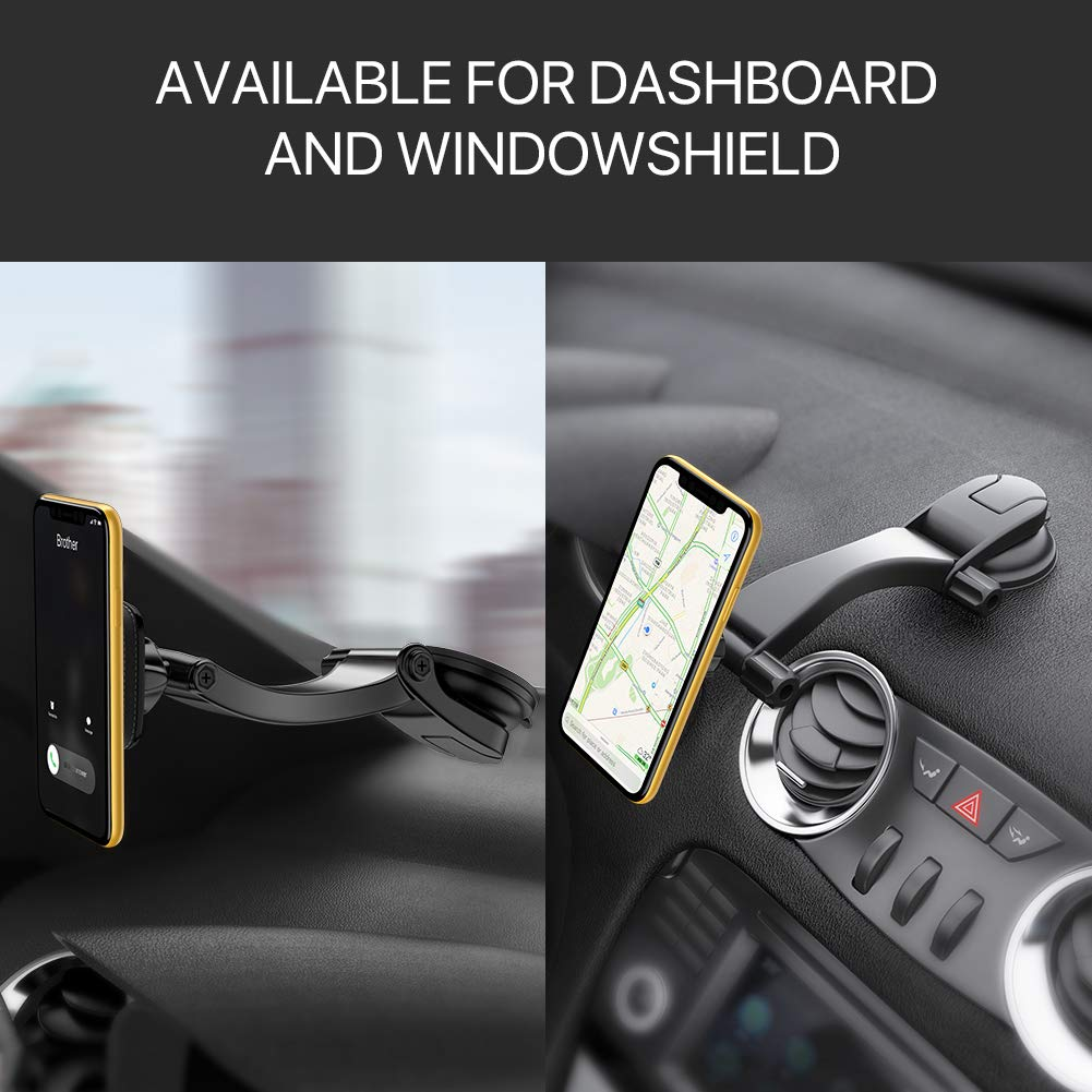Magnetic Cell Phone Mount >> Miracase Car Phone Mount Magnetic Cell Phone Holder Dashboard Windshield Adjustable Vehicle Phone Stand