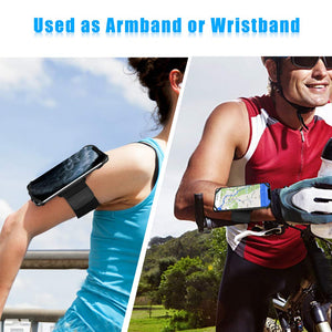 VUP Phone Armband,360° Rotatable Running Armband for Phone with Elastic Arm Band