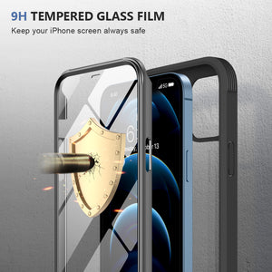 Glass Screen Protector Case for iPhone 12 Pro Max (6.7inch)