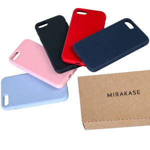 MIRAKASE Liquid Silicone Case for iPhone SE / iPhone 8 / iPhone 7 (4.7inch)