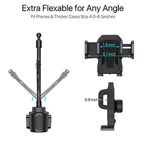 Adjustable Universal Cup Holder Cradle Car Mount - Miracase