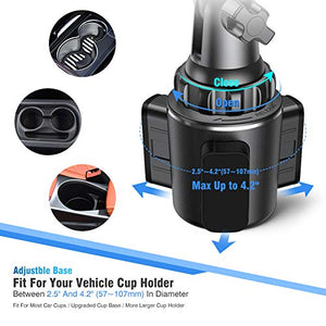 Universal Car Cup Holder Phone Mount - Miracase