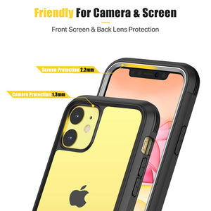 Full Body Clear Built-in Screen iPhone 11 Case (6.1inch) - Miracase