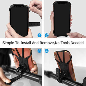 Universal Silicone Phone Stand for Bicycle - Miracase