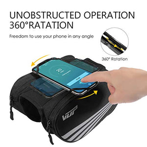 Universal Bicycle Motorcycle Handlebar Bag - Miracase
