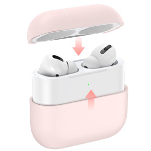 Liquid Silicone Protective Case for AirPods Pro - Miracase