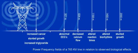 Powerlines | emf | emf safe distance |emf radiation | electromagneticwaves