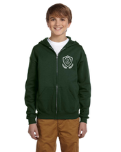 Load image into Gallery viewer, Bentley Youth Full Zip Hoodie