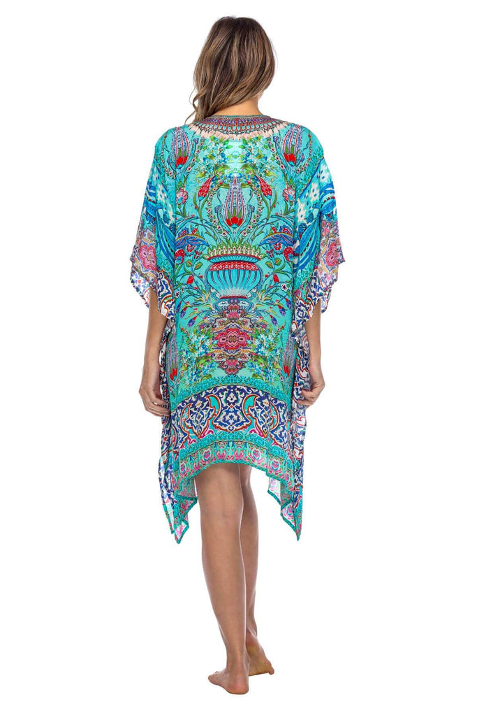 Viscose Silk Summer Kaftan Wholesale - La Moda Clothings