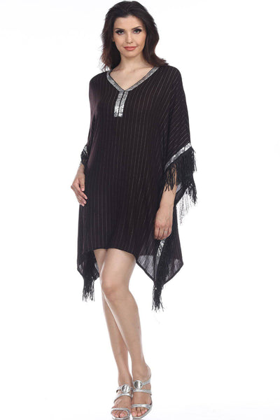 Caftan Light weight Lounger Dress | Laid Back Tunic Kaftan Dress Coastal Bohemian Gypsy Resort Style Bathing Suit Bikini Swimsuit Cover Up - La Moda Clothings