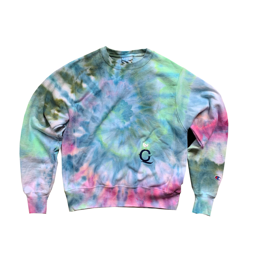 """Maldives"" Champion reverse weave crewneck X Artist's Choice Edition"