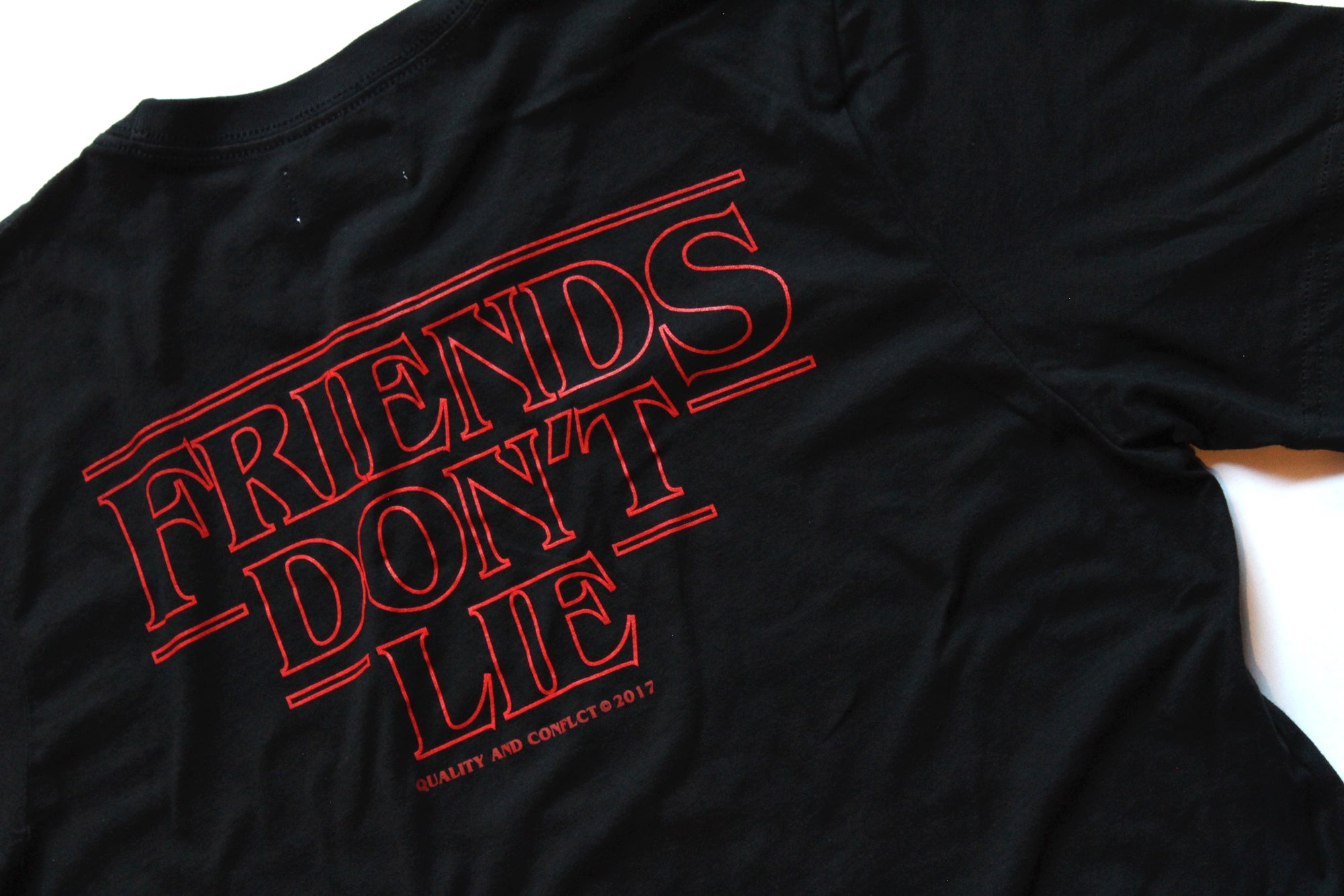 """FRIENDS DON'T LIE"" TEE"