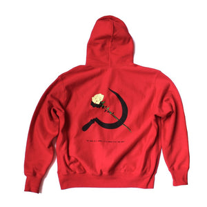 """LABOR OF LOVE"" HOODIE - RED"
