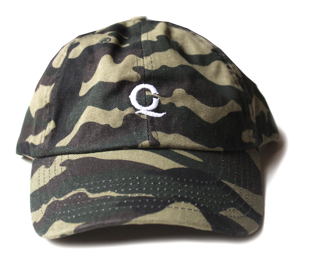 "Q&C Unstructured Hat ""Camo"""