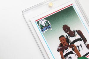 "Q&C ""Wolves"" Basketball Card # 001"