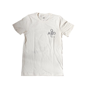 "Q&C ""OF SPACE AND TIME"" SHORT SLEEVE TEE"