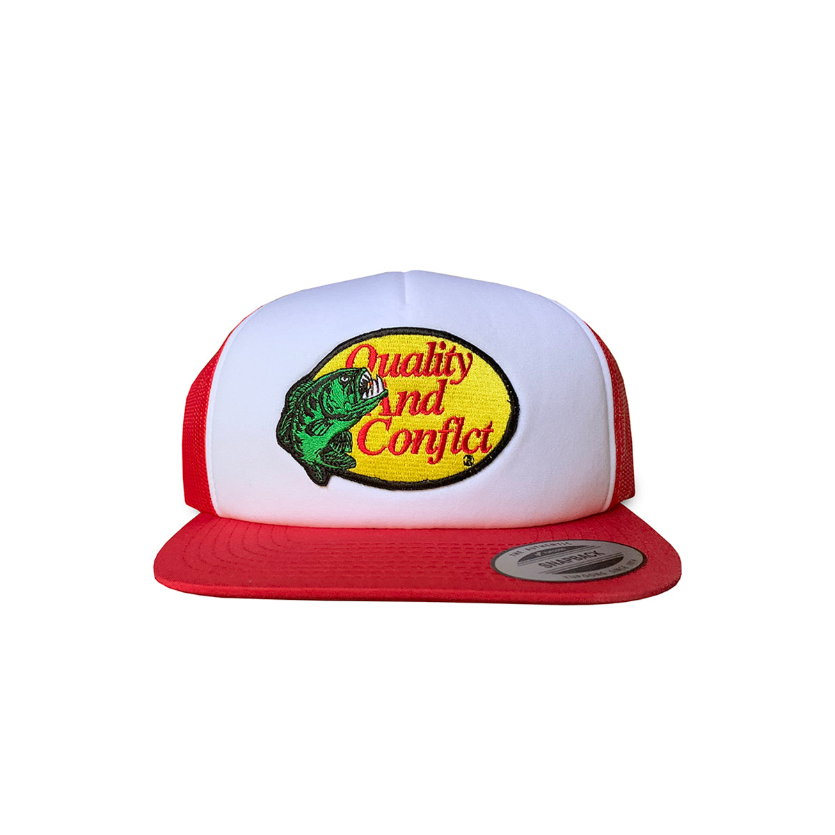 "Q&C ""Gone Fishin'"" Trucker Hat"