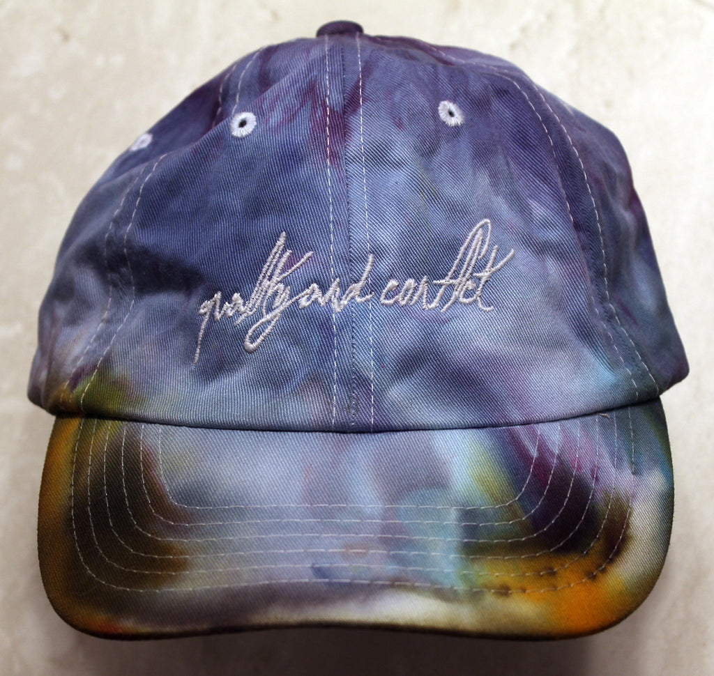 "Q&C Script Logo Unstructured Hat ""Maldives"""