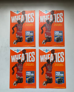 Vintage Air Jordan Wheaties poster set (4 posters)