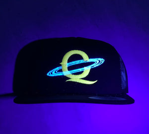 """Sagan"" Trucker (Black/Canary/Glow)"