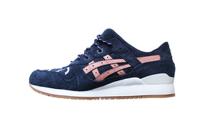 "Q&C x Asics Gel Lyte III ""Friends and Family"" (Navy/Salmon/White) *DISPLAY*"