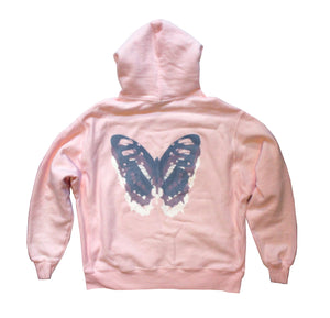 """Mariposa"" Champion reverse weave pullover - Dust pink"