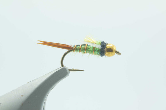 BH Crazy Prince Caddis Green #14